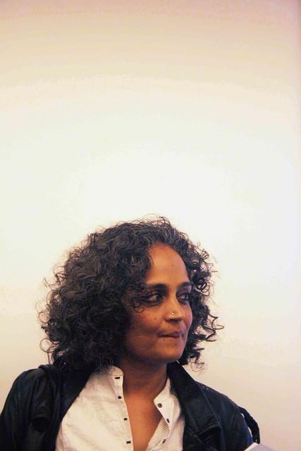 City Sighting – Arundhati Roy, India Islamic Centre