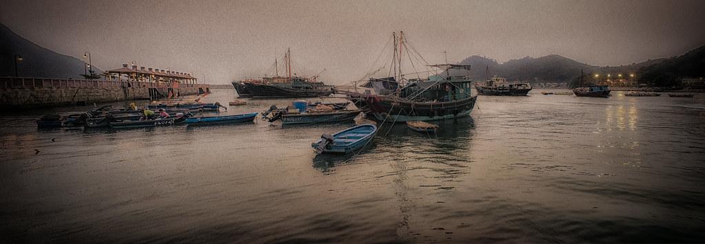 Tai O Village Boats