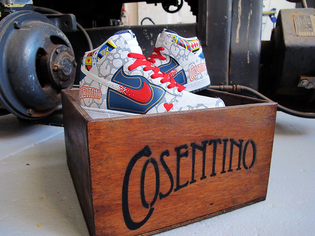 Sekure D x Cosentino Dunk High