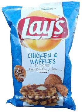 Lay's Do Us a Flavor Chicken & Waffles Potato Chips