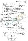 GGSIPU Question Papers Third Semester – First Term 2012 – ETCS-205