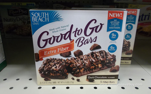 South Beach Diet Good to Go Bars