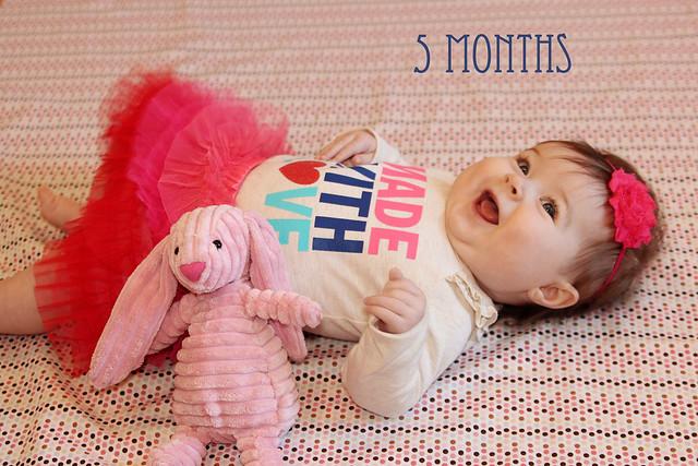 Harper at 5 months