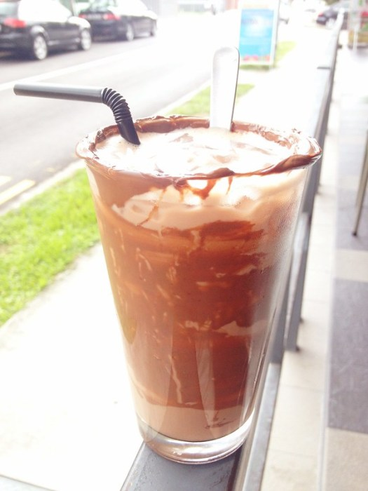 Nutella Iced Chocolate!