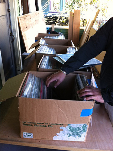Digging through the records