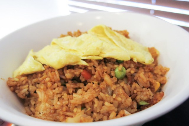 Nasi Goreng at Singapore Food Street