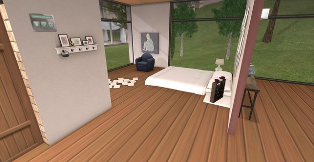 Linden Home Makeover_bedroom view and foyer