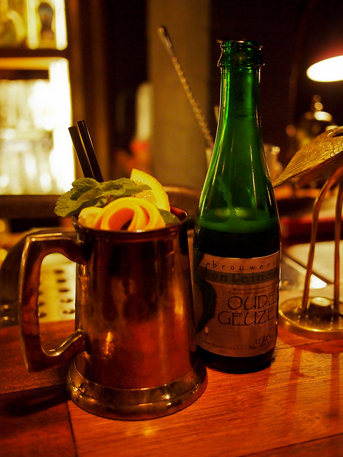 3 Fonteinen Oude Gueuze Cocktail @ Jigger's Ghent