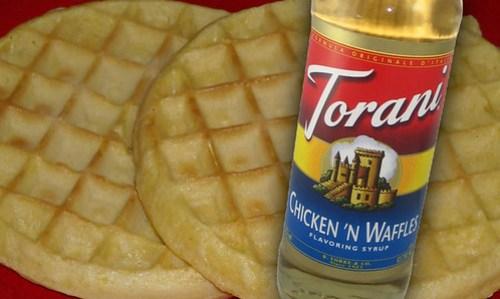 Torani Chicken & Waffles Giveaway