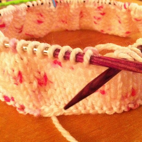Does it look like a #hat? #knit #round