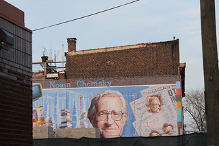 Noam Chomsky Mural