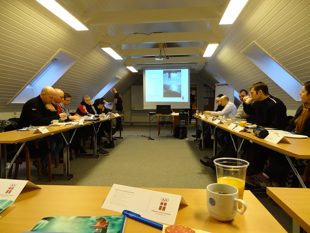 Basic coaching course at the Faroese Sports Federation