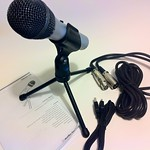 New Media Gear 015: Audio-Technica ATR2100-USB Cardioid Dynamic USB/XLR Microphone (6/6)