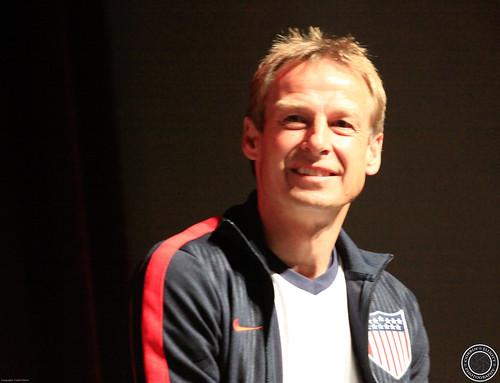Jurgen Klinsmann, USMNT, Pep Rally 2013 World Cup Qualifier by Corbin Elliott Photography