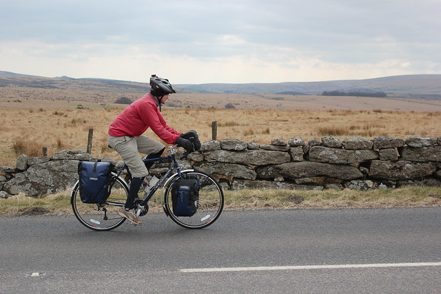 Cycling across Dartmoor