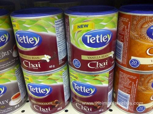 Tetley Vanilla Bean Chai Tea