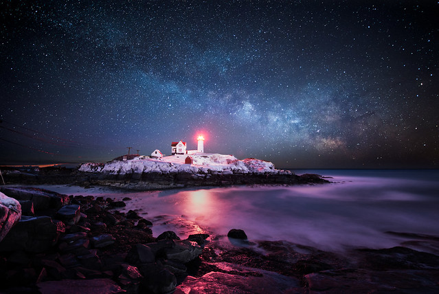 Winter Nubble Light