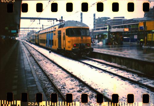 Ice and train