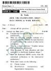 UPTU B.Tech Question Papers - CS-031 - Data Mining & Ware Housingg