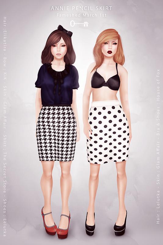 Annie Pencil Skirt