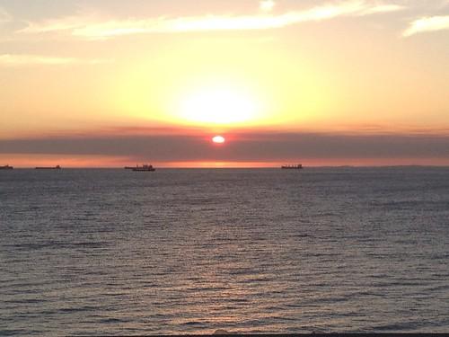 First Australian Sunset