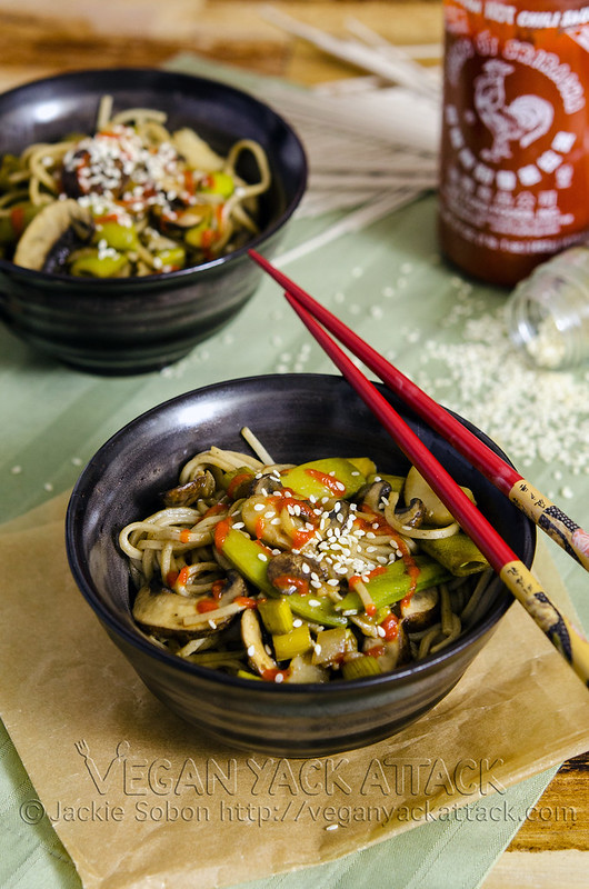 If you need a simple and delicious weeknight dinner idea, try out this Spring Soba Stir Fry! Vegan, healthy and easy-to-make.