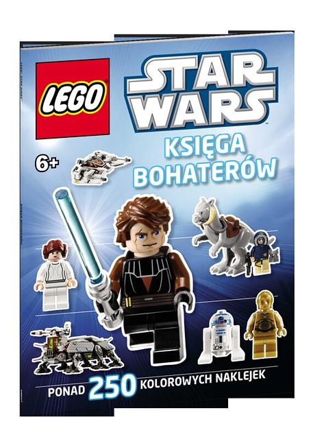 LEGO STAR WARS - LSW1 - Księga bohaterów