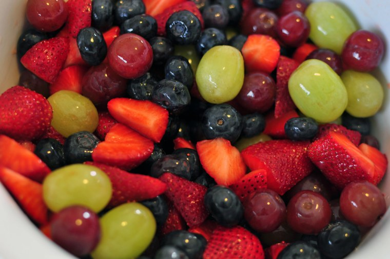 Honey Lime Fruit Salad 2