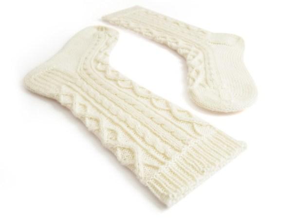 Argyle Cables Socks
