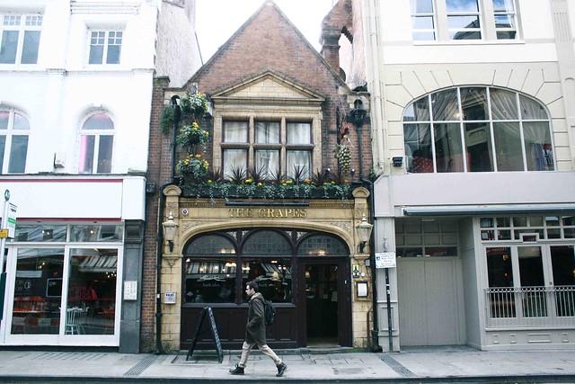 the grapes pub oxford