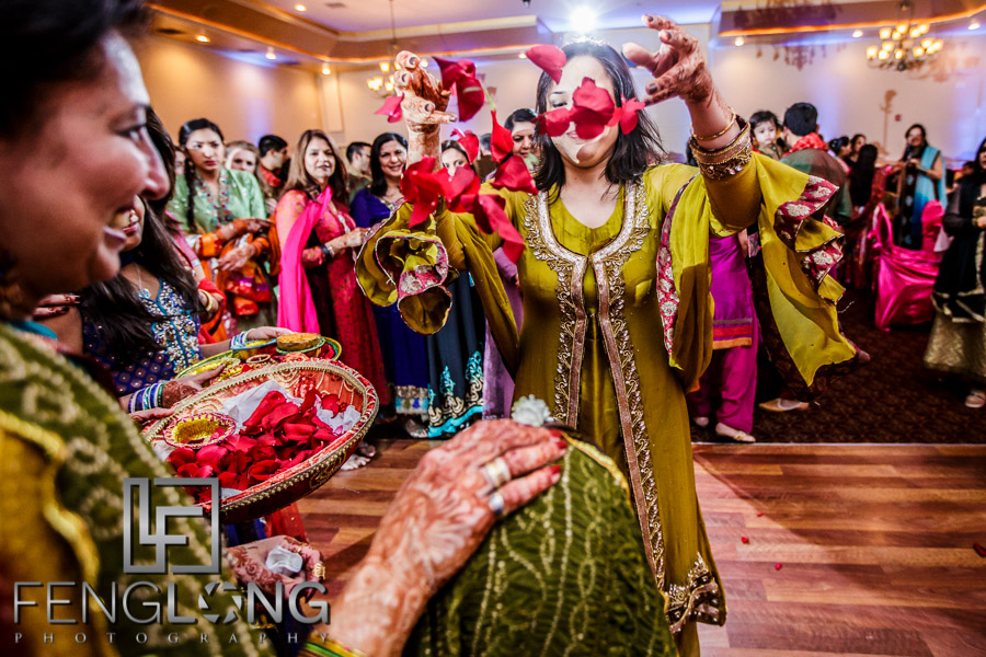 Kanwal & Ali's Dholki/Pithi | Occasions Event Hall | Atlanta Indian Wedding Photography