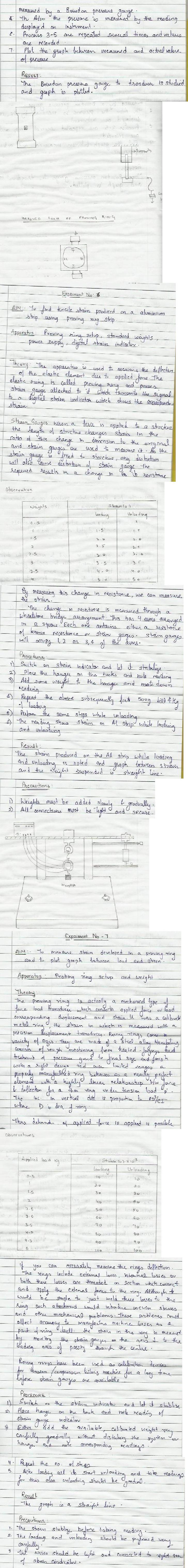 DTU Practical Files - 5 Sem - Instrumentation