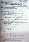 NSIT Question Papers 2012 – 2 Semester - End Sem - MA-112