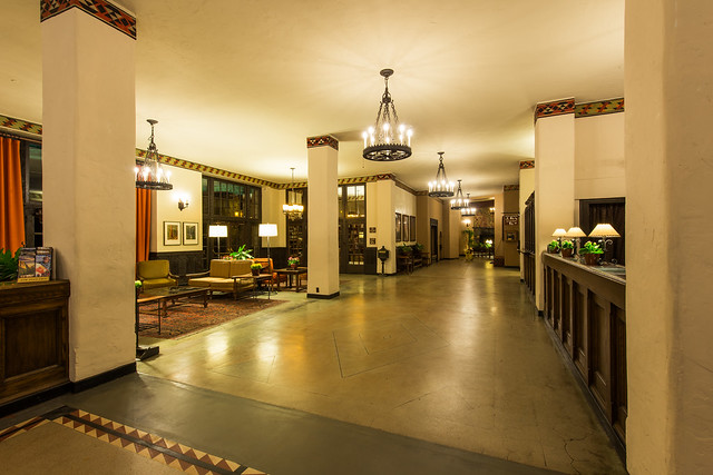 The Overlook Hotel Lobby The Ahwahnee Hotel Yosemite