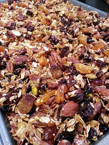 mixed fruits and nuts granola by pipsyq