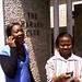 Anna Miti and FAMWZ colleague at Harare Club