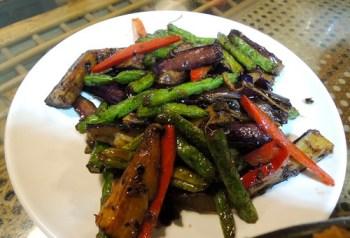 Vege Zen - eggplant and long bean