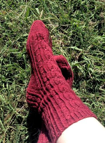 Polly Jeans socks