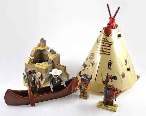 The Lone Ranger 79107 Comanche Camp 08