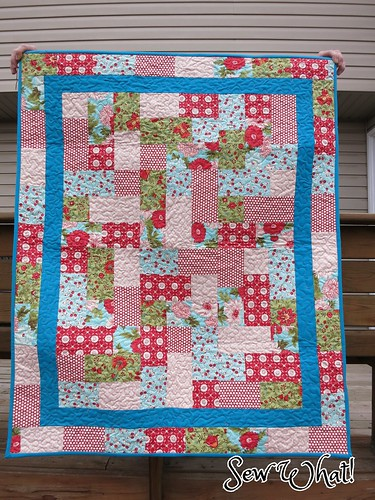 Hopscotch Quilt Pattern Sew What