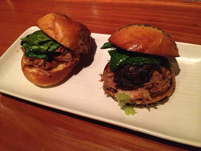Chinatown duck sliders - Maven