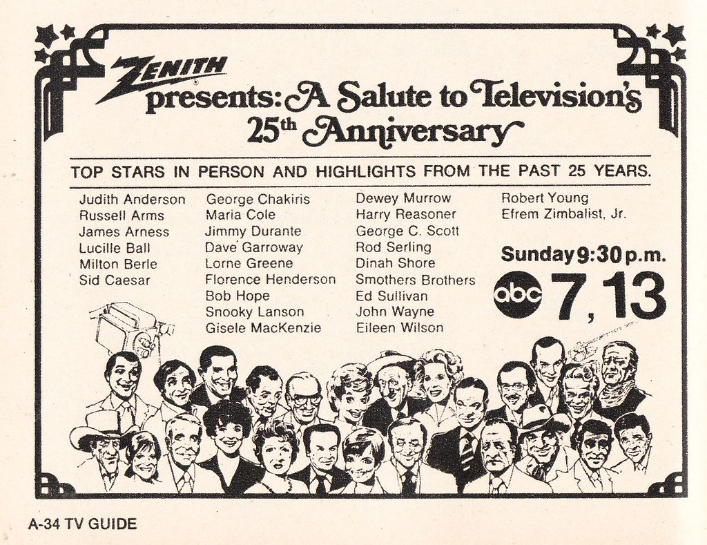 Zenith Salute to TV