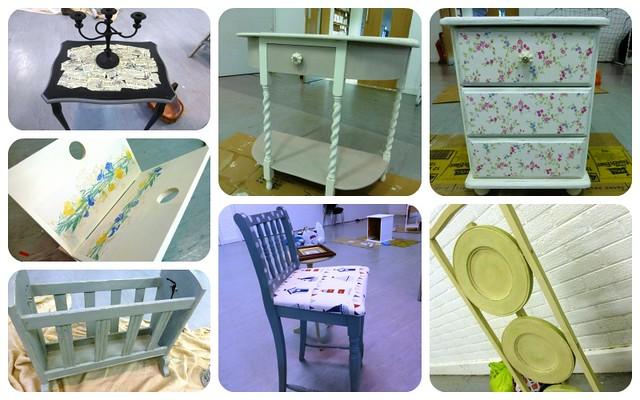 Upcycling Furniture Workshop Mar13