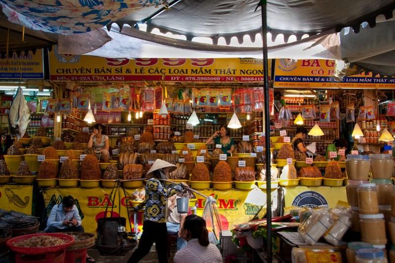 Market, Chau Doc, Vietnam