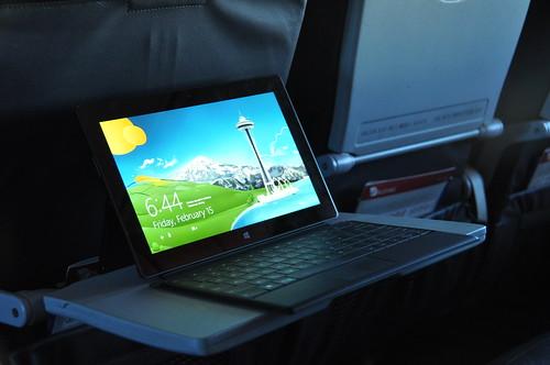 Surface RT on Boeing 733-800 (Virgin Australia)