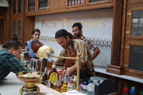 Polite Provisions mixologists