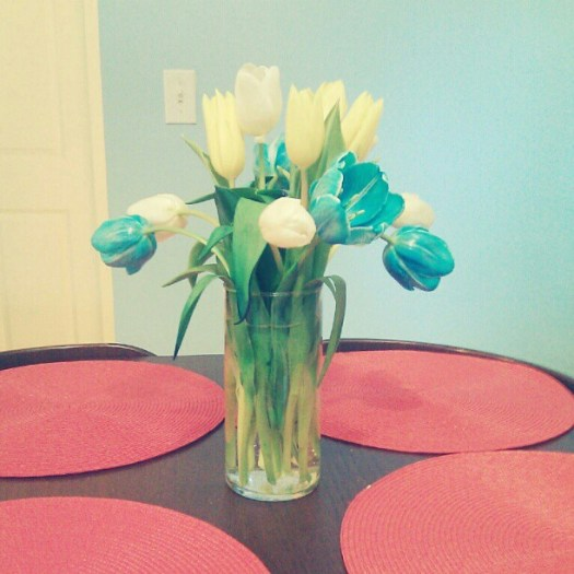 I get flowers from @blame_simian every week