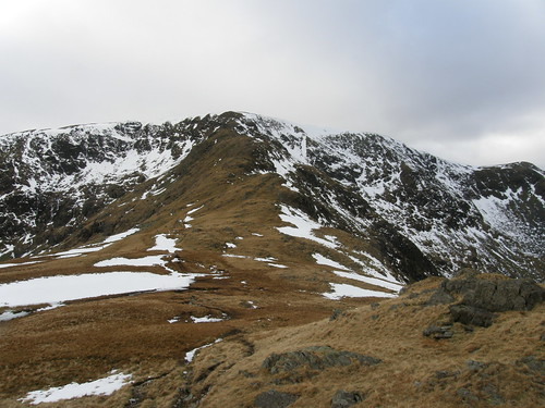 The ridge on to High Street (Riggindale Crag)