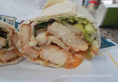 Grilled Chicken Sweet Chili McWrap 11