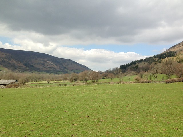 Vale of Ewyas, Llanthony Priory